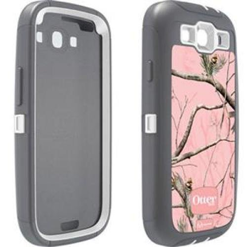OtterBox Defender Series Case and Holster for Samsung Galaxy S III  - Realtree Camo - AP Pink