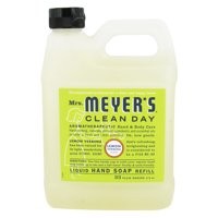 Mrs. Meyers Clean Day Liquid Hand Soap Refill, Lemon Verbena - 33 Oz, 6 Pack