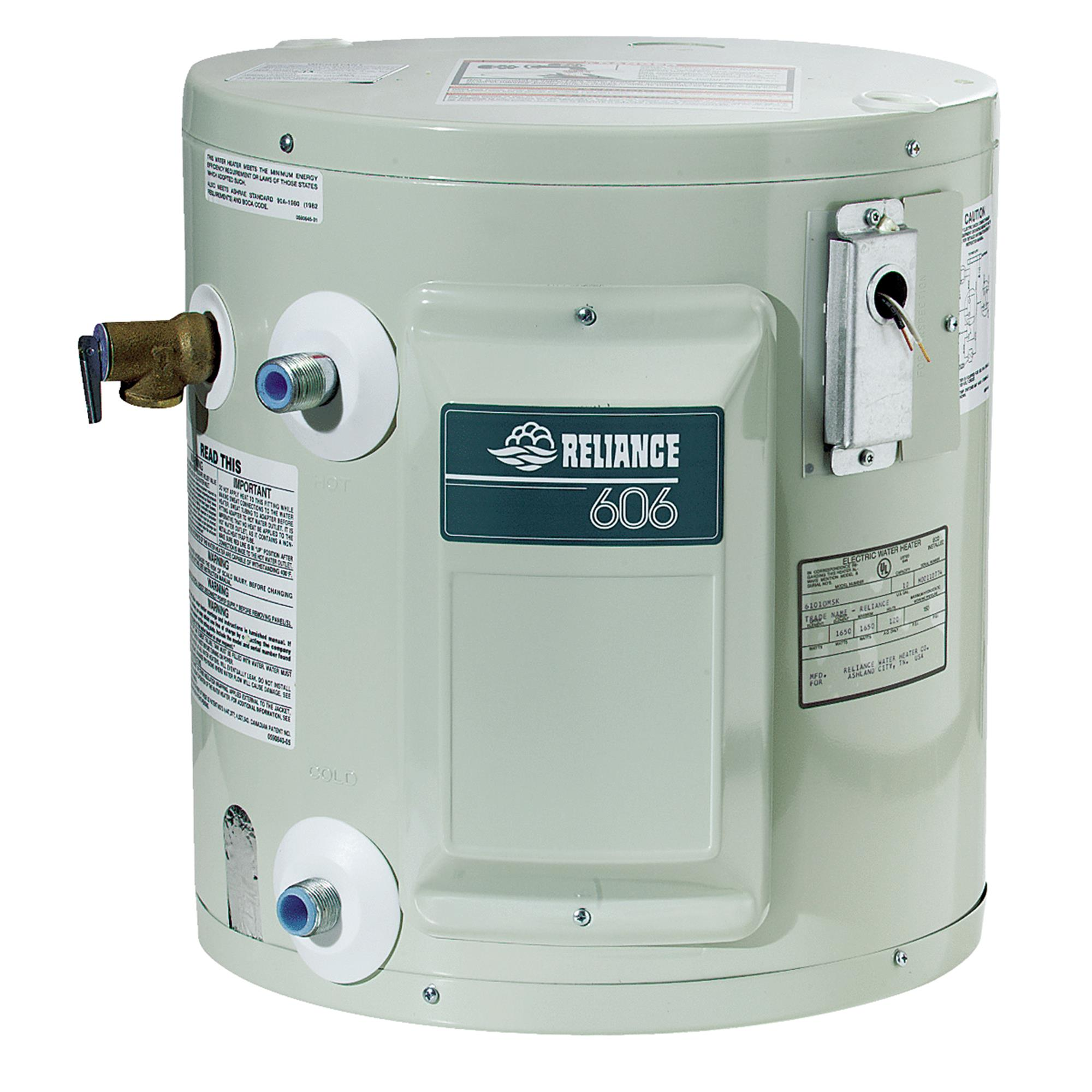 Reliance Compact Utility Electric Water Heater
