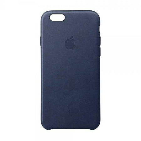 sports shoes 63e63 45c7e Apple Leather Case for iPhone 6s Plus and iPhone 6 Plus - Midnight Blue