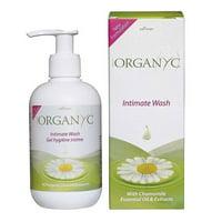 Organyc Feminine Intimate Wash With Chamomile, 8.5 Oz
