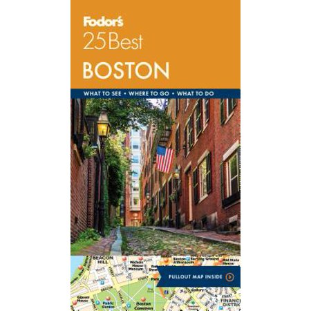 Fodor's Boston 25 Best (Best Of Boston Ltd)