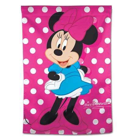 Minnie Mouse Banner (Official Disney Minnie Mouse Pink Polka Dot Banner)