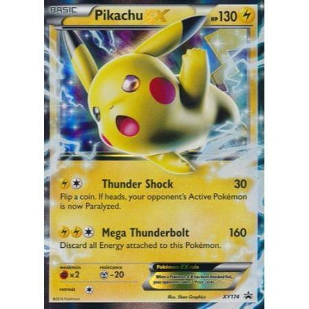Pokemon Card New Pikachu Ex Xy174 Ultra Rare Promo