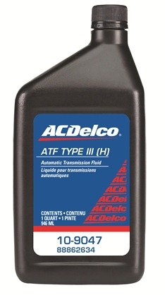 ACDelco 10-9047 Type III Automatic Transmission Fluid 1 qt by ACDelco