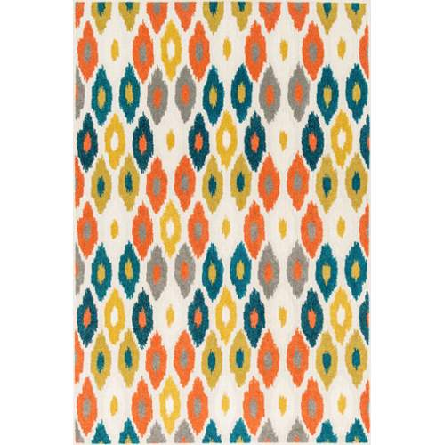 Loloi Catalina Indoor / Outdoor Rug - Ivory / Multi