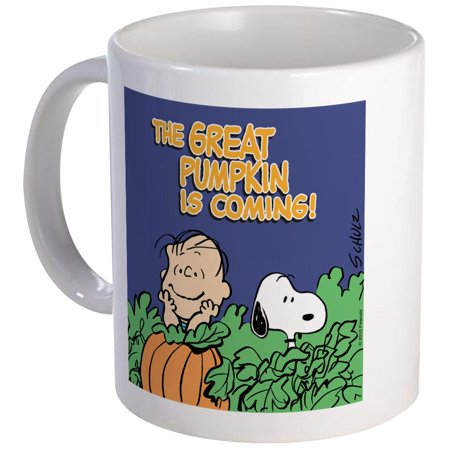 CafePress - Great Pumpkin Mug - Unique Coffee Mug, Coffee Cup CafePress - Snoopy Great Pumpkin
