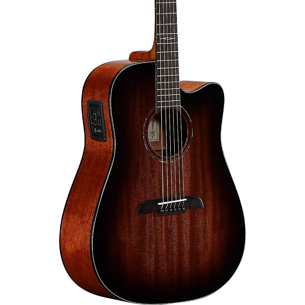 Alvarez AD66CESHB Dreadnought Acoustic-Electric Guitar Shadow Burst