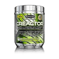 MuscleTech Creactor Creatine Powder, Lemon Lime, 120 Servings