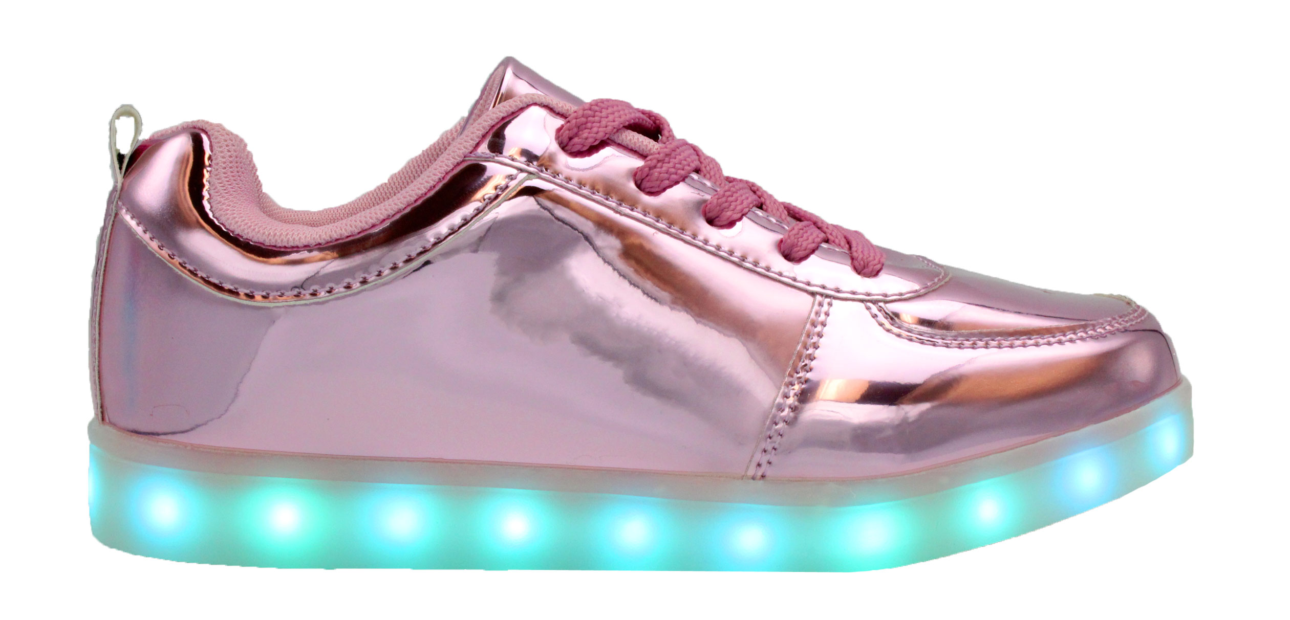 8a71cd021c29 Galaxy LED Shoes Light Up USB Charging Low Top Kids Sneakers