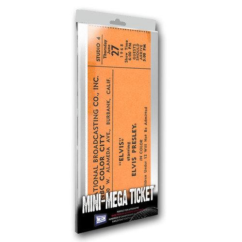 That's My Ticket June 27, 1968 Elvis Presley Comeback Special Mini Mega Ticket