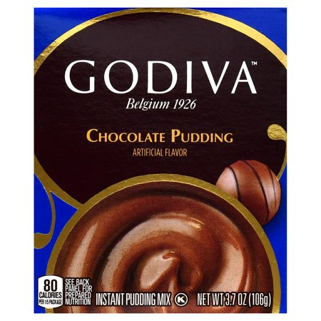 Godiva Chocolate Instant Pudding - 3.7oz