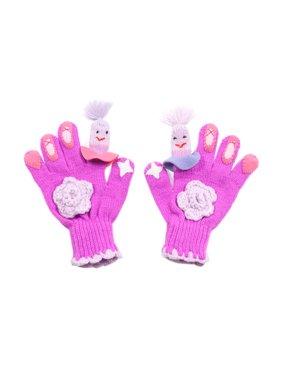 Kidorable Kids Toddler Cold Weather Medium Ballerina Gloves