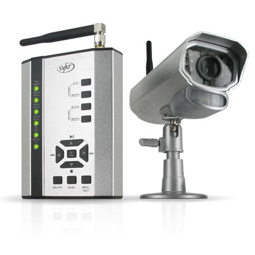SVAT GX301-012 Digital Wireless DVR Security System with Night Vision Camera