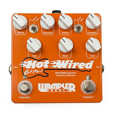 Wampler Brent Mason Hot Wired V2 Signature Overdrive Distortion