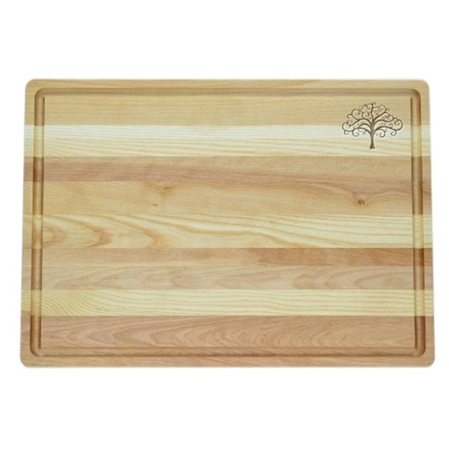 Carved Solutions Master Collection Wooden Cutting Board Large-Treeolife - image 1 of 1