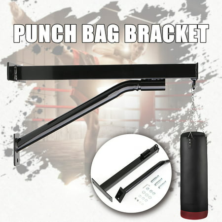 Bag Mount - Heavy Duty Boxing Punch Bag Wall Bracket Mount Hanger Iron Hook for MMA Training Muay Thai Punching Bag
