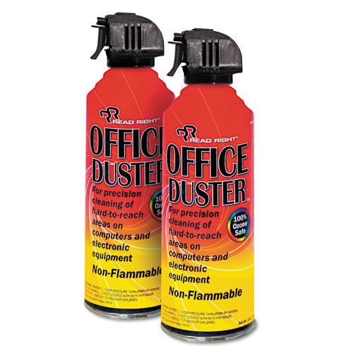 Advantus Corp. OfficeDuster Plus All Purpose Duster, Two 10oz Cans per pack