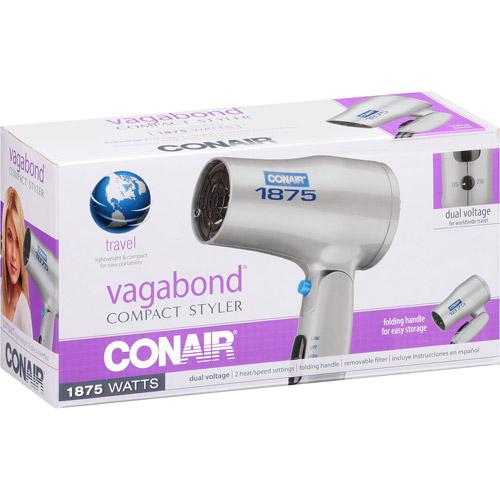 Secador De Cabello Styler compacta Conair Vagabond, modelo 127SZ + Conair en Veo y Compro