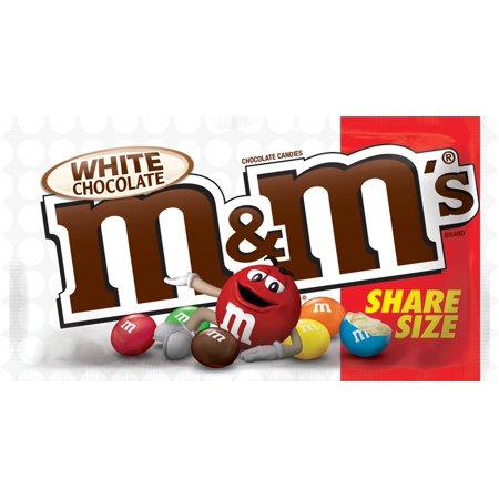 (Price/Case)M&M's 368775 M&M's White Chocolate Sharing Size 2.47 Ounce 24 Count 6/Case](M&m Sharing Size)