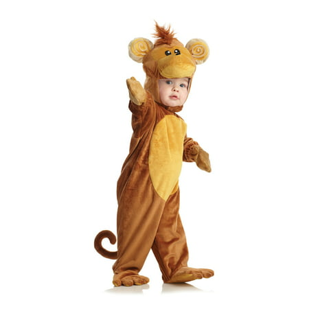 Toddler Monkey Costume by Underwraps Costumes 26051 (Toddler Monkey Costumes)