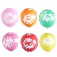 Fancyleo 10PCS Dinosaurs Latex Balloons for Holiday Party Birthday Party Supplies and Dinosaur Party Decorations