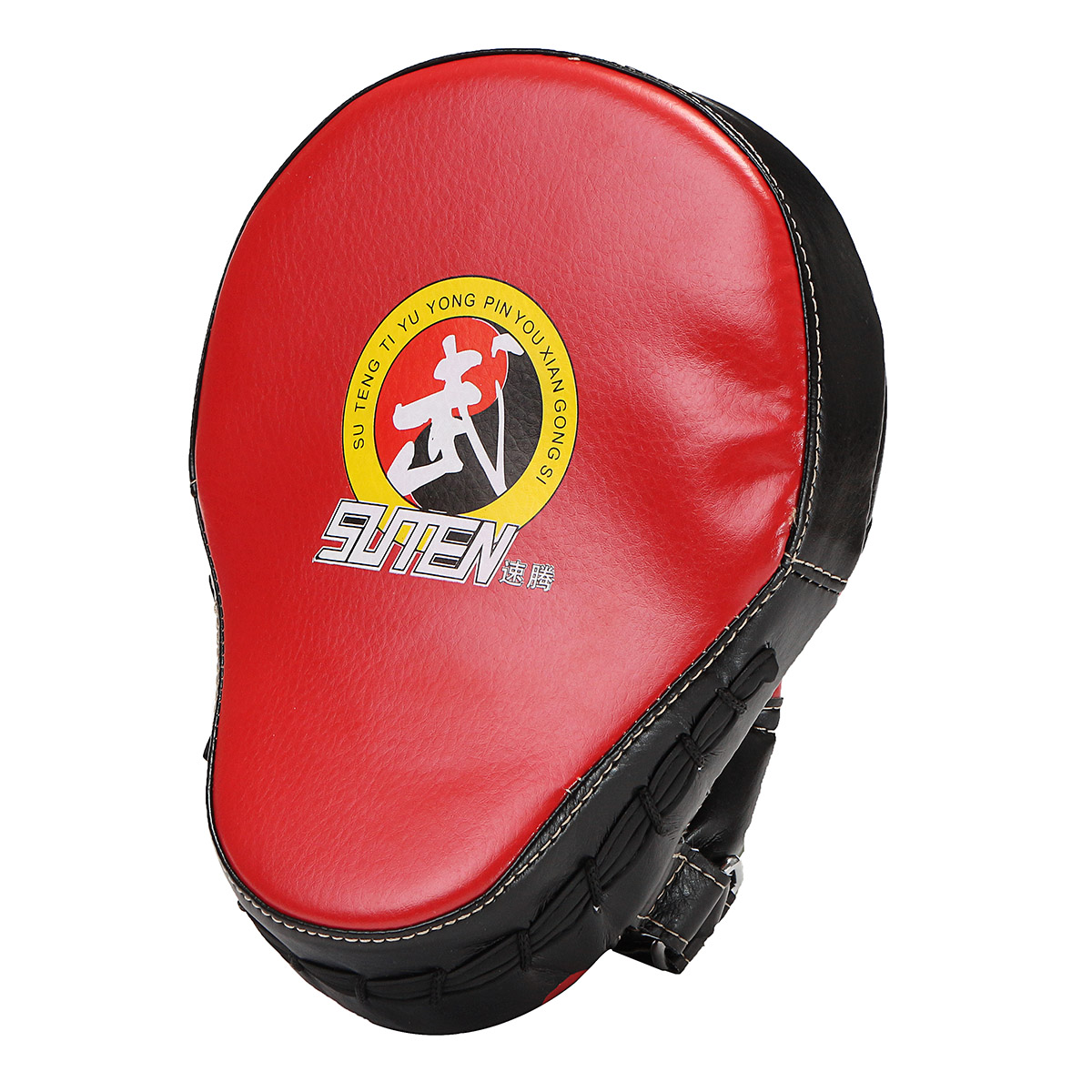 PU Leather MMA Kick Strike Shield Thai Pad Target Focus Boxing Training Punching Mitts by