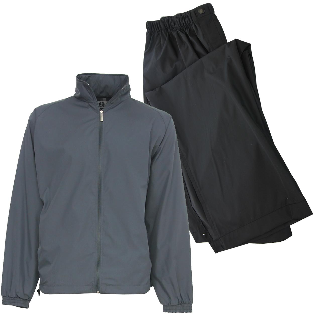 IXSPA Men's Packable Breathable Waterproof Golf Rain Suit...