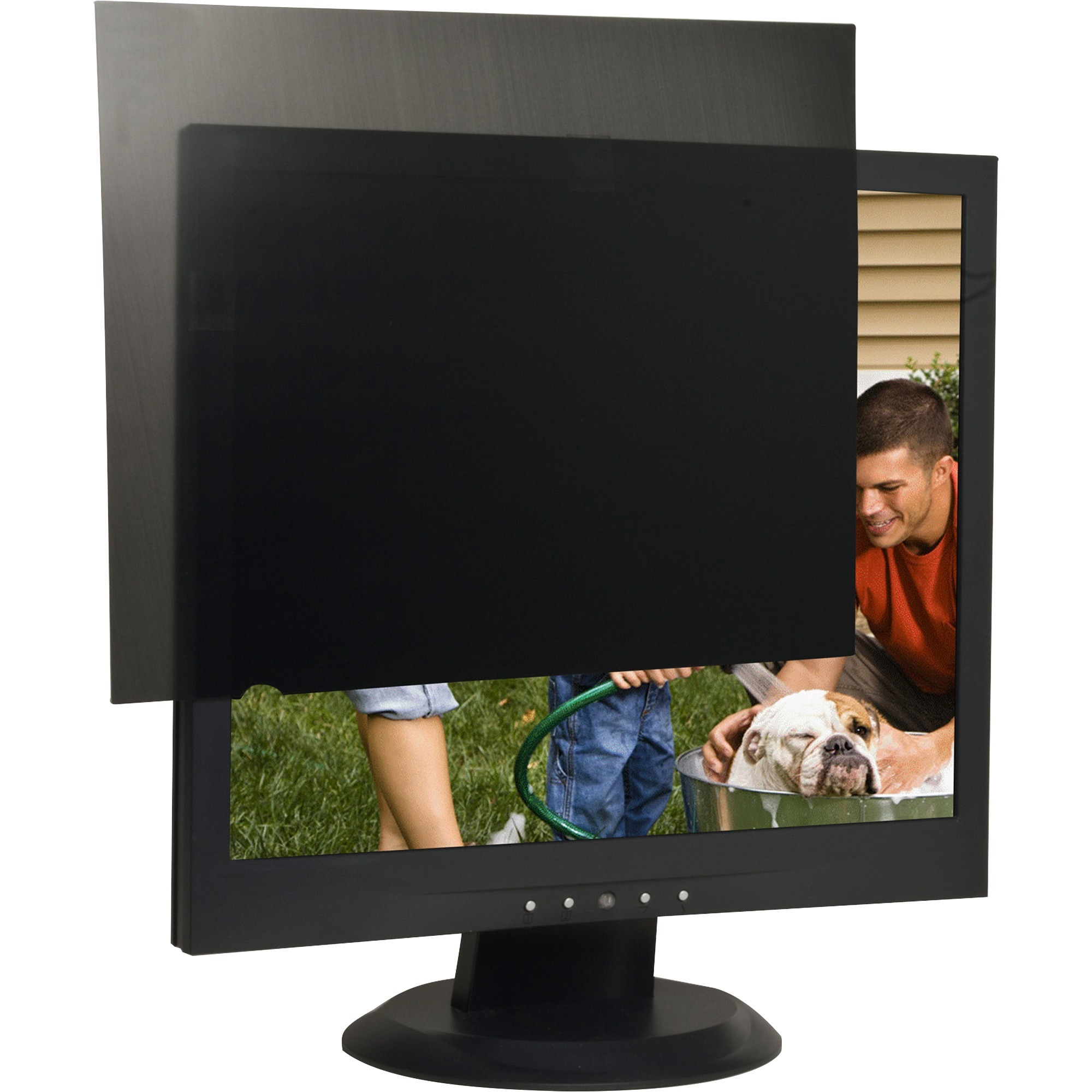 "Compucessory, CCS20665, 17"" LCD Monitor Privacy Filter, 1, Black"