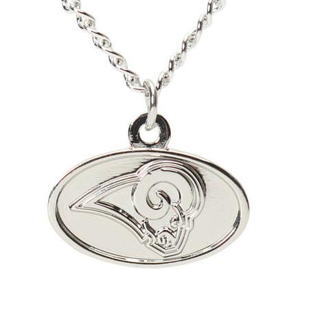Los Angeles Rams WinCraft Women's Logo Necklace - Silver - No Size