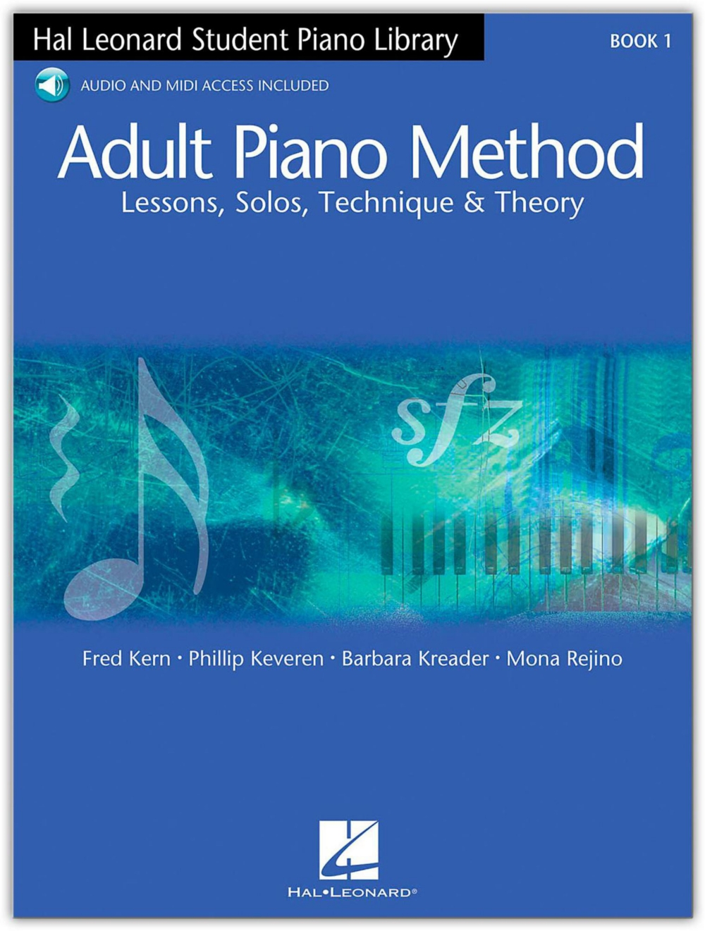 Hal Leonard Adult Piano Method Book 1 with Online Audio by Hal Leonard Corporation