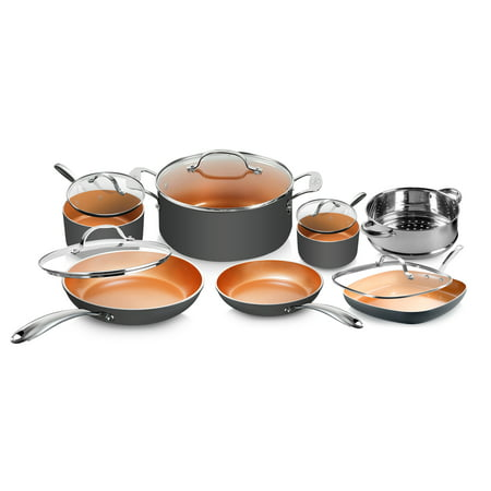 Gotham Steel Diamond 12pc Cookware Set