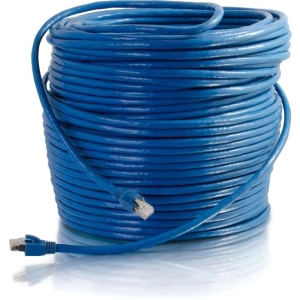 300FT CAT6 SOLID SHIELDED BLUE
