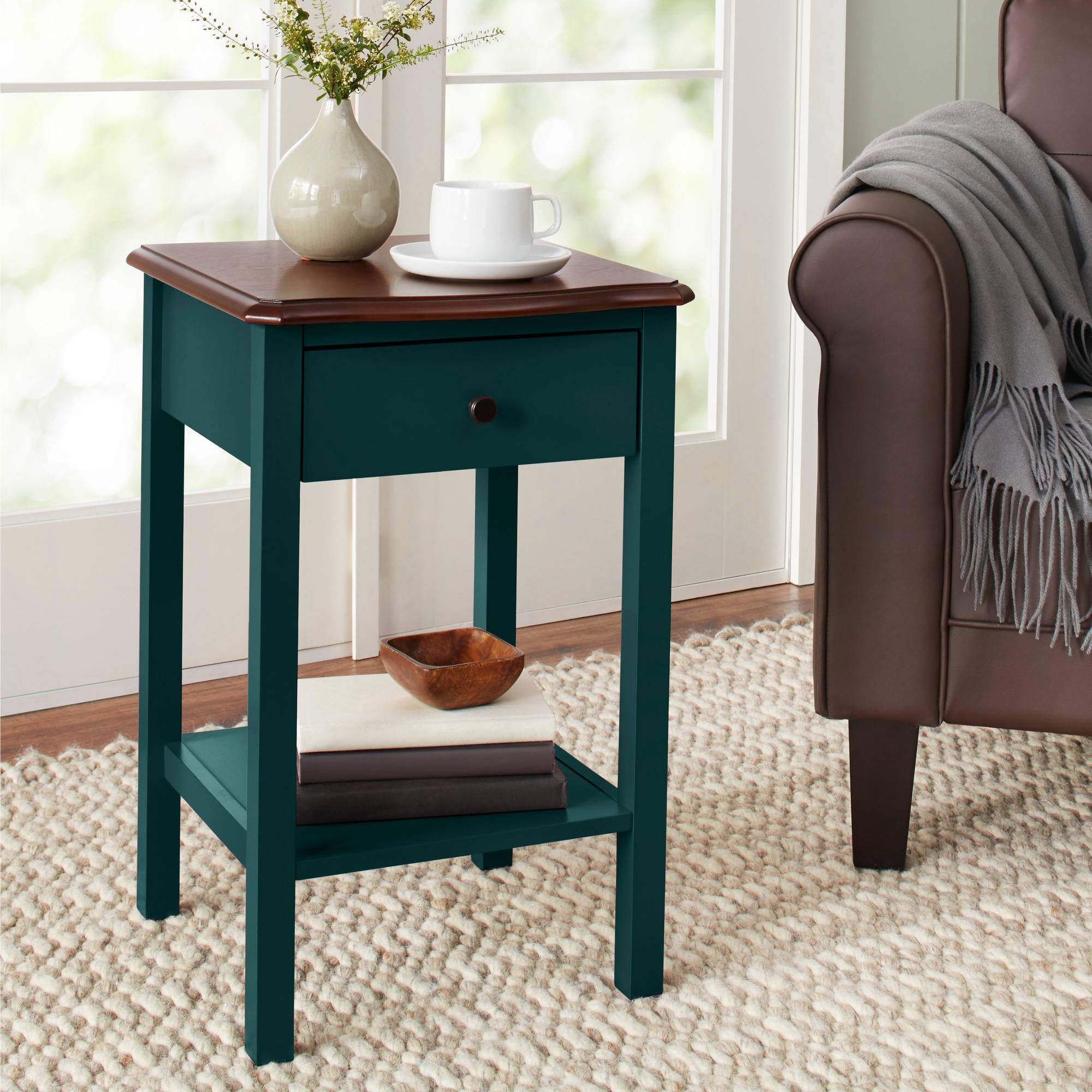 10 Spring Street Hinsdale Side Table, Multiple Colors