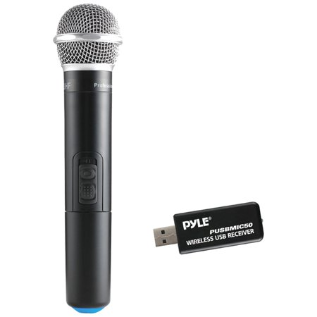 200 Performance Handheld Dynamic Microphone (Microphone & USB Receiver, Handheld Dynamic UHF Mic System )