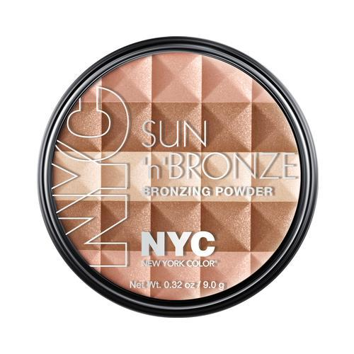 N.Y.C. New York Color Sun 2 Sun Bronzing Powder, Hamptons Radiance, 0.44 Ounce
