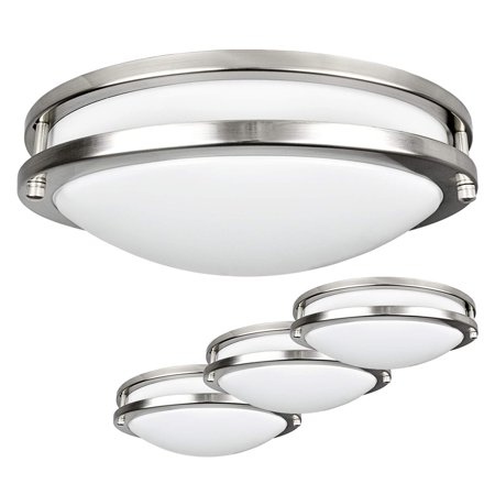 Awesome Luxrite Led Flush Mount Ceiling Light 12 Inch Dimmable 4000K Cool White 1380 Lumens 18W Ceiling Light Fixture Energy Star Etl Perfect For Complete Home Design Collection Lindsey Bellcom