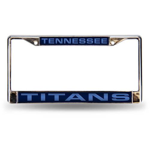 NFL Tennessee Titans Laser Chrome Frame