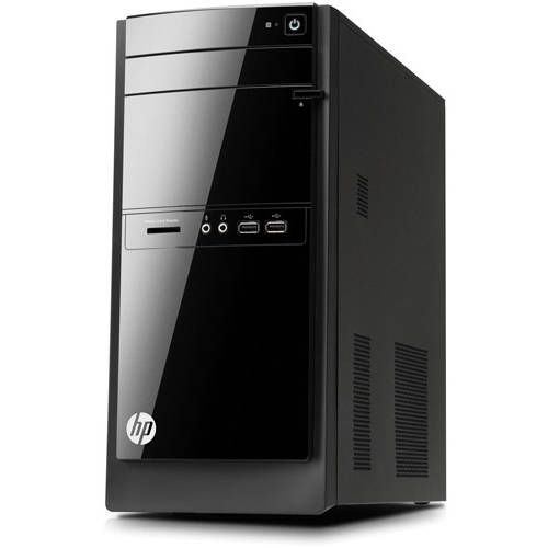 HP Refurbished Black 110 - 023wb Desktop PC with Intel Pentium G2020T Processor, 8GB Memory, 1TB Hard Drive and Windows 8 (Monitor Not Included)
