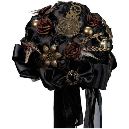 Lillian Rose Steampunk Wedding Bouquet