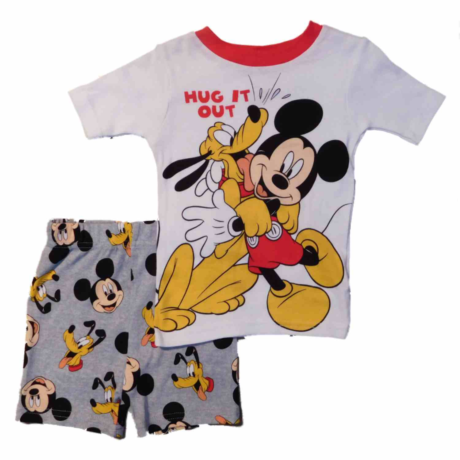 Disney/'s Classic Mickey Mouse Toddler Boy 4pc Pajama Set size 2T