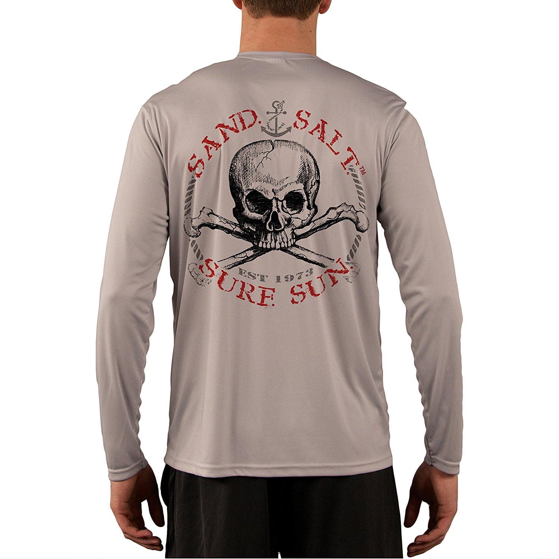 Red Skull Men's UPF 50+ UV/Sun Performance T-shirt