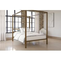 DHP Modern Canopy Bed, Multiple Options Available