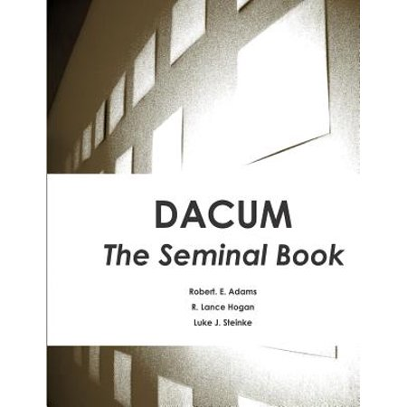 Dacum: The Seminal Book by