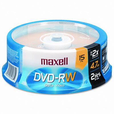 Maxell 4x DVD-RW Media T40315 by Maxell