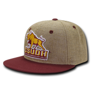 NCAA CSU Dominguez Hills University Lightweight Jute Snapback Baseball Caps Hats