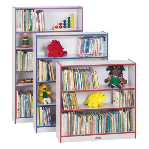 Jonti-Craft Rainbow Accents  Bookcase