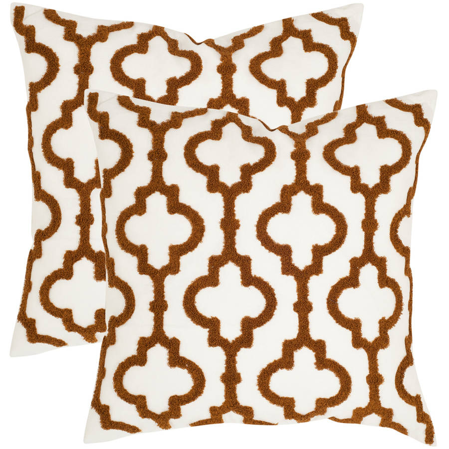 Safavieh Lucy Geometric Pillow, Set of 2