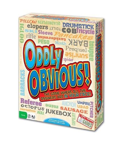 Oddly Obvious Game (Discontinued manufacturer), Great Party Game By Endless Games by