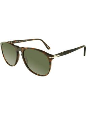 78b82786c7 Product Image Persol Men s PO9649S-24 31-55 Tortoiseshell Oval Sunglasses